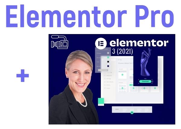 Мини курс «Elementor 3 (2021) для начинающих» + Установка плагина Elementor Pro